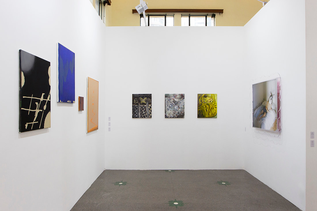 Gallery Vacancy at ART021 Shanghai, 2019. Booth E34. With works by: Louise Giovanelli, Ni Hao, Peng Ke, Rute Merk, Shen Han, Sydney Shen, Shi Jiayun, Kiki Wang.
