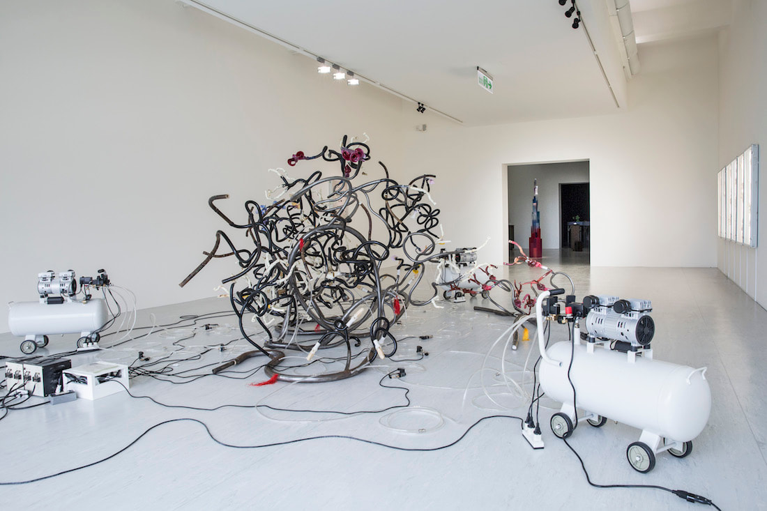 Ni Hao's solo exhibition at Taipei Fine Arts Museum, 2019 (Structure Study V, 2018)