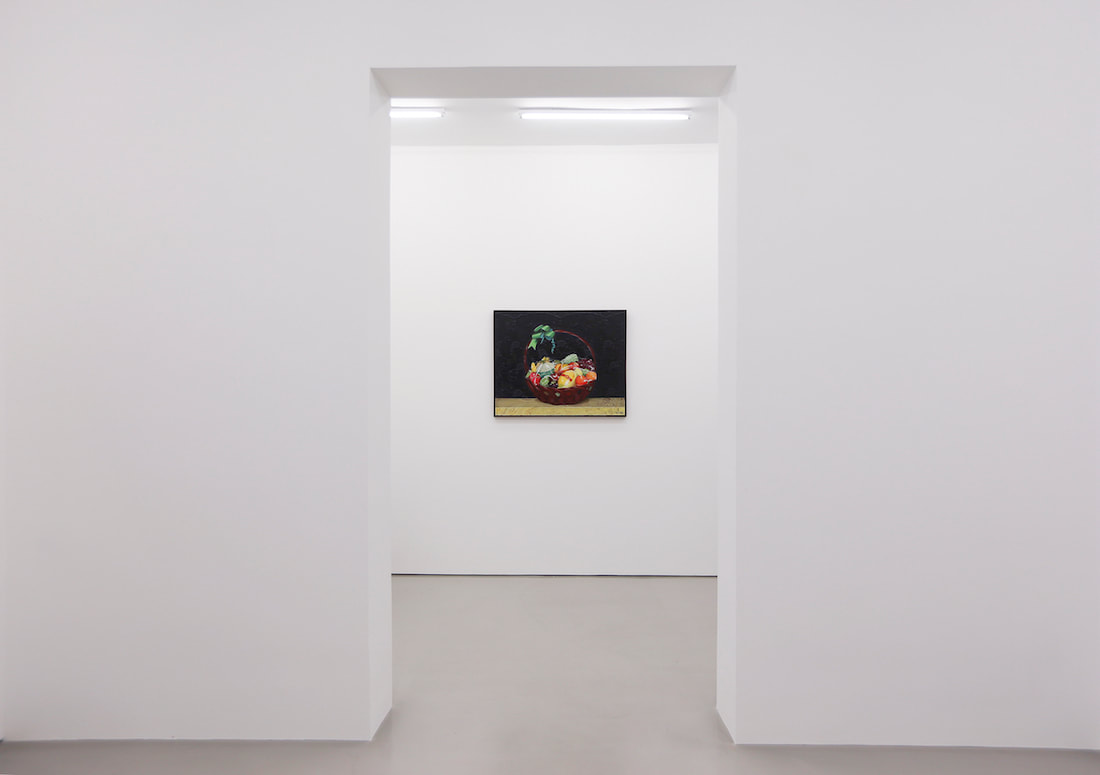 Gallery Vacancy installation view of Chen Fei's painting in exhibition